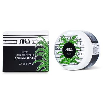 YAKA Aloe Vera SPF-15 Day Cream 30ml - buy, prices for Novus - image 1