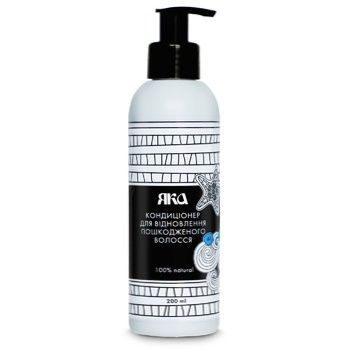 YAKA Conditioner to Restore Damaged Hair 200ml - buy, prices for Novus - image 1