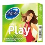 Презервативы LifeStyles Play латексные 3шт
