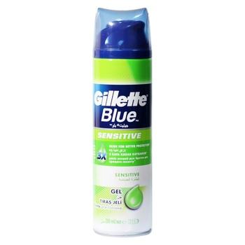 Gillette Blue Shaving Gel for Sensitive Skin 200ml - buy, prices for CityMarket - photo 3
