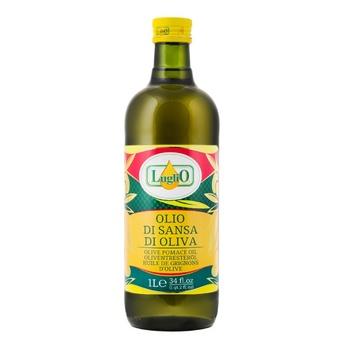Олія оливкова помас рафінована Luglio 1000 мл - купить, цены на Novus - фото 1