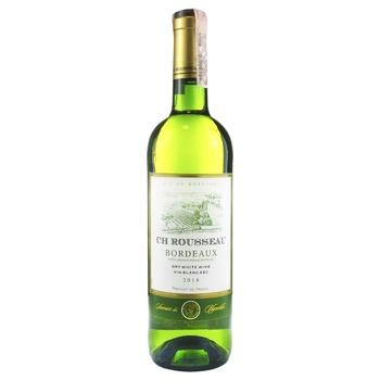 Ch Rousseau Bordeaux white dry wine 11.5% 0.75l - buy, prices for Novus - image 1