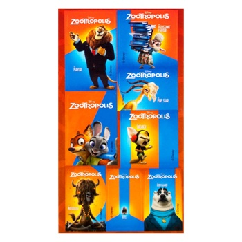 Mitsar Zootropolis Brown Sticker - buy, prices for Furshet - image 1