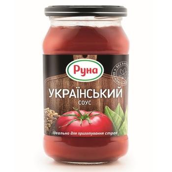 Соус Руна Украинский 485г - купить, цены на Novus - фото 1