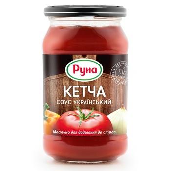 Соус томатный Руна Кетча Украинский 485г - купить, цены на Ашан - фото 2
