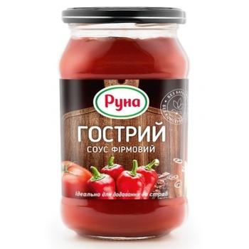Соус томатний Руна Гострий фірмовий  485г - купити, ціни на Ашан - фото 2
