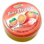 Woogie Fine Drops Orange Lollipops 200g