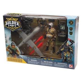 Набор игровой Chap Mei Солдаты Helicopter
