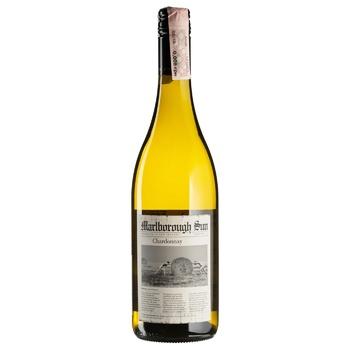 Вино Saint Clair Marlborough Sun Chardonnay белое сухое 13% 0,75л - купить, цены на СитиМаркет - фото 1