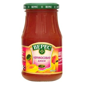Veres Apricot Jam 370g - buy, prices for Novus - image 1