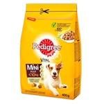 Корм сухий Pedigree для малих собак птиця овочі 400г
