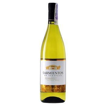 Вино Sarmientos Chardonnay біле сухе 13% 0,75л - купити, ціни на CітіМаркет - фото 1
