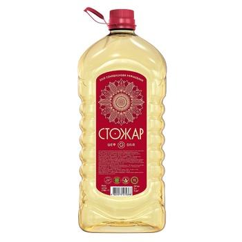 Олія соняшникова Стожар рафінована 3л - купити, ціни на Novus - фото 1