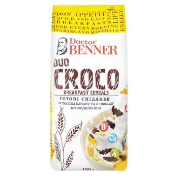 Завтраки готовые Dr.Benner Croco Duo 150г
