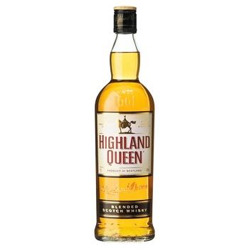 Виски Highland Queen 40% 0,5л - купить, цены на СитиМаркет - фото 1