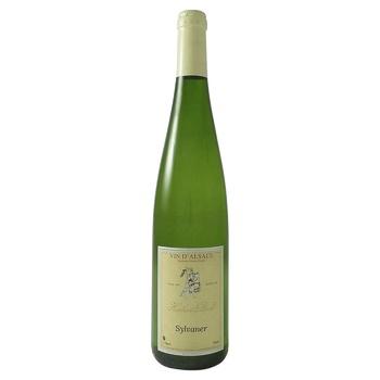 Вино Hubert Beck Сильванер 12 белое сухое 0.75л - купить, цены на Фуршет - фото 1