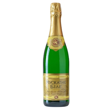 Zolota Balka Sparkling Wine Muscat White Semisweet 0.75l - buy, prices for Furshet - image 1