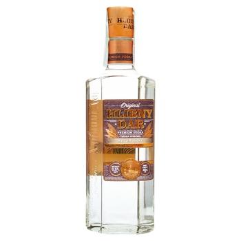 Hlibnyy Dar Zhytnya lux vodka 40% 0,37l