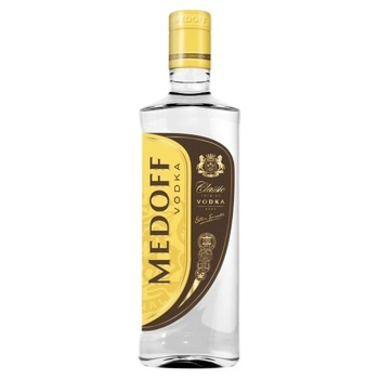 Medoff Classic Premium Vodka 40% 0.35l - buy, prices for CityMarket - photo 1