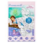 Книга Раскраска Принцесса