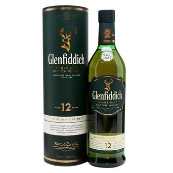 Виски Glenfiddich 12 лет 40% 0,5л - купить, цены на СитиМаркет - фото 1