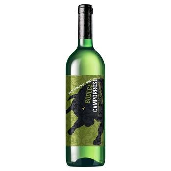 Вино Camporroso Bodega біле напівсолодке 10.5%-11.5% 0.75л - купити, ціни на Фуршет - фото 1