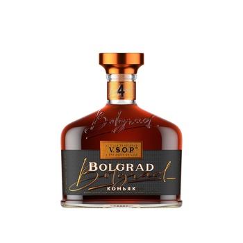 Bolgrad Ukrainian Ordinary 4 Stars Cognac 40% 0,5l - buy, prices for Furshet - image 1