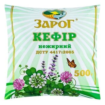 Кефир Зарог нежирный 500г