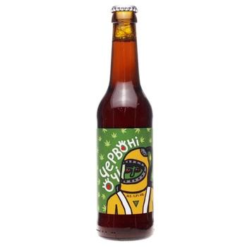 Пиво Правда Красные глаза полутёмное нефильтрованное 5.8% 0.33л