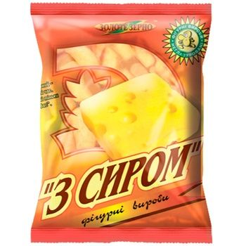 Zolote Zerno Corn Sticks with Cheese Flavor 50g - buy, prices for Vostorg - photo 1