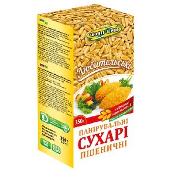 Сухари панировочные Золоте зерно пшеничные 350г