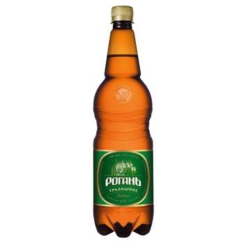 Пиво Рогань Традиционное светлое 4,6% 1,2л