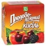 Кисель Золотое Зерно плодово-ягодный 180г