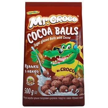 Шарики Mr.Croco с какао 500г