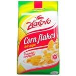 Хлопья кукурузные Золотое зерно Zlakovo с уменьшенным содержанием сахара 650г
