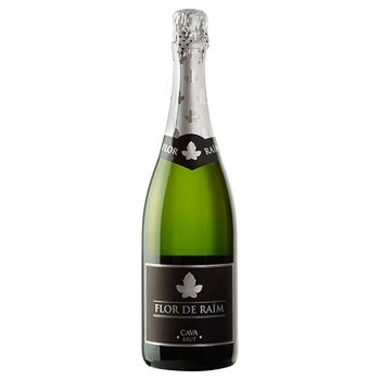 Cava Flor de Raim Brut Sparkling wine 11.5% 0.75l - buy, prices for CityMarket - photo 1