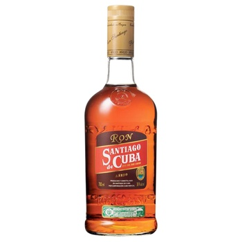 Santiago de Cuba Anejo Rum 38% 0,7l - buy, prices for MegaMarket - image 1