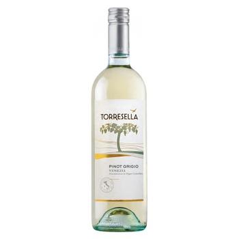 Вино Torresella Pinot Grigio Venezia белое сухое 12% 0,75л