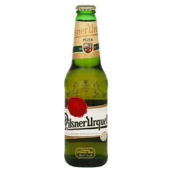 Пиво Pilsner Urquell светлое 4,4% 0,33л