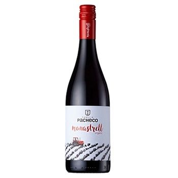 Вино Familia Pacheco Monastrell Organic красное сухое 14% 0,75л