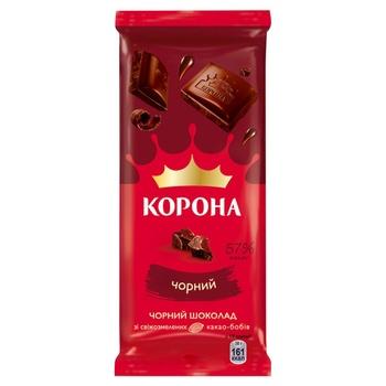Korona Dark Chocolate 85g - buy, prices for Novus - image 1