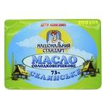 Natsionalnyy Standart Peasant Butter 73% 200g - buy, prices for Furshet - image 1