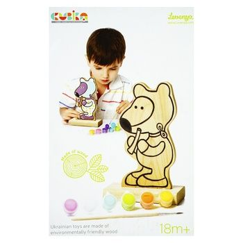 Levenya Toy Coloring Game Teddy Bear with Paints 13852 - buy, prices for Furshet - image 1
