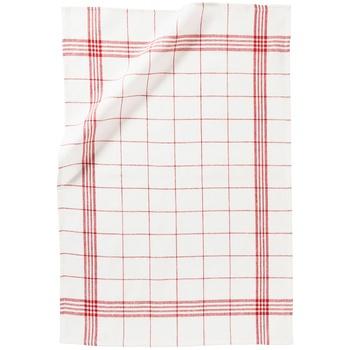 Полотенце Ашан хлопковое красное 40х65см
