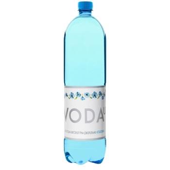 Вода VodaUA минеральная негазированная 1,5л - купить, цены на Фуршет - фото 1