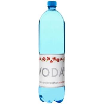 Вода питьевая Voda Ua Карпатская високогорная родниковая сильногазированная 1.5л - купить, цены на Фуршет - фото 1