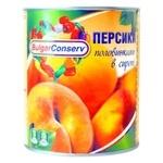 Персик BulgarConserv половинками в сиропе 850мл