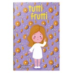 Блокнот Tutti Frutti Orange A6 - купить, цены на Фуршет - фото 1