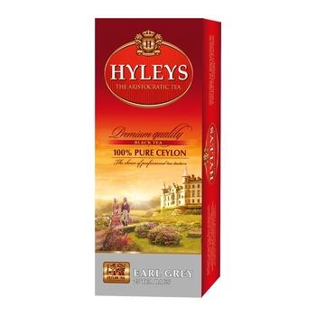 Чай Hyleys Эрл Грей черный 25шт х 1,5г
