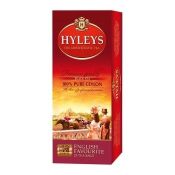 Черный чай Хэйлис Английский фаворит цейлонский байховый мелкий в пакетиках 25х1.8г Шри-Ланка